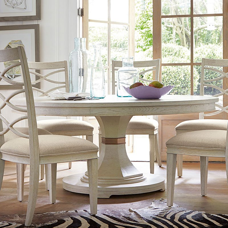 California Round Dining Table Malibu Universal Furniture