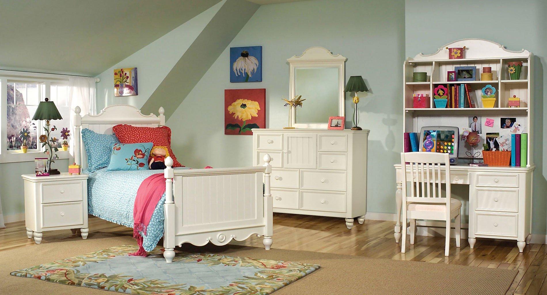 Summer Breeze Scroll Top Poster Bedroom Set