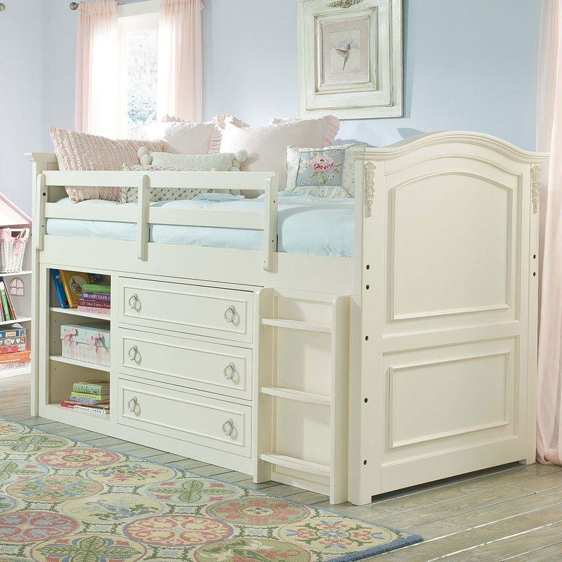 Enchantment Mid Loft Bed Legacy Classic Kids Furniture Cart