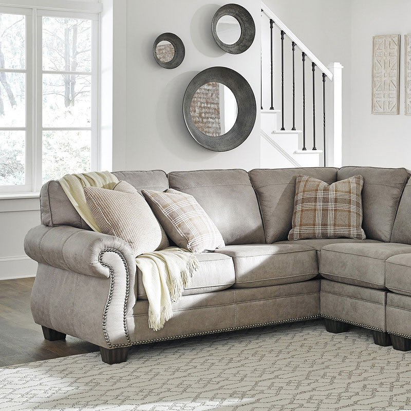 Modular Sectional Sofa Ashley: Olsberg Steel Modular Sectional Signature Design