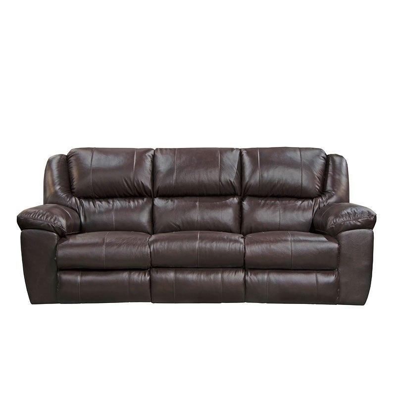 Transformer II Triple Reclining Sofa W/ Drop-Down Table (Chocolate ...