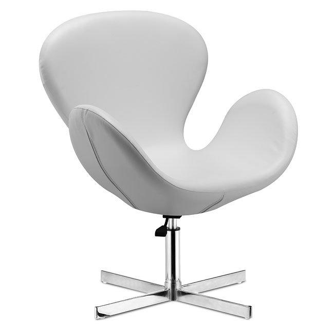 Pleasing Cobble Lounge Chair White Evergreenethics Interior Chair Design Evergreenethicsorg