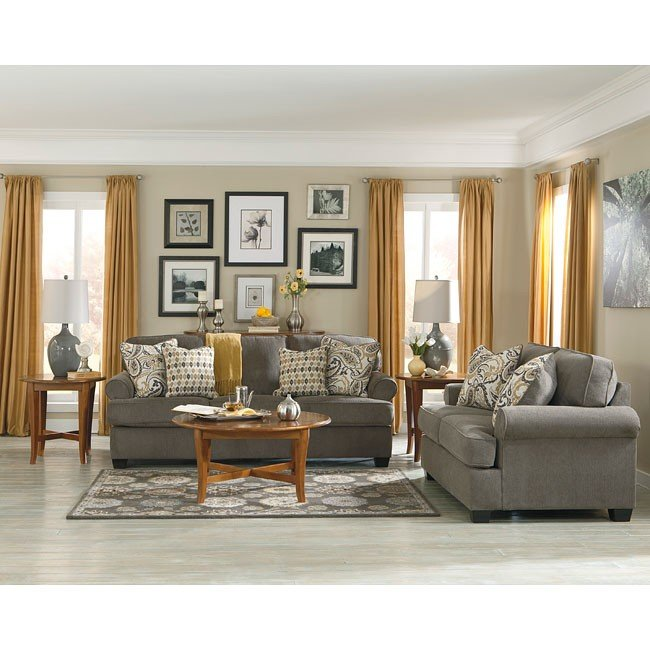 Coulson Smoke Living Room Set