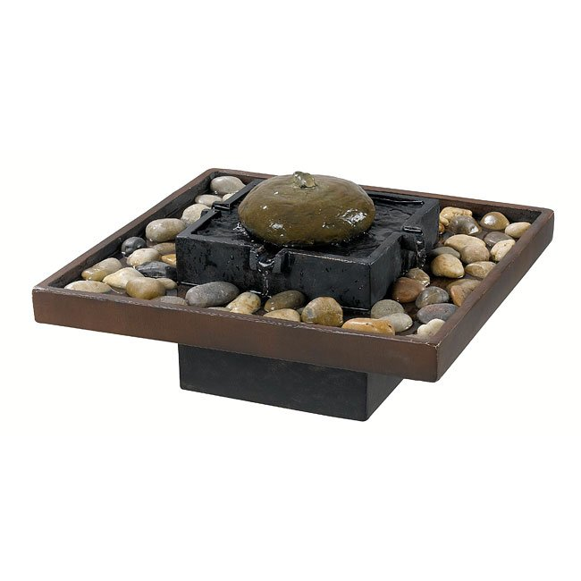 Bliss Indoor Table Fountain (Two Toned Bronze)