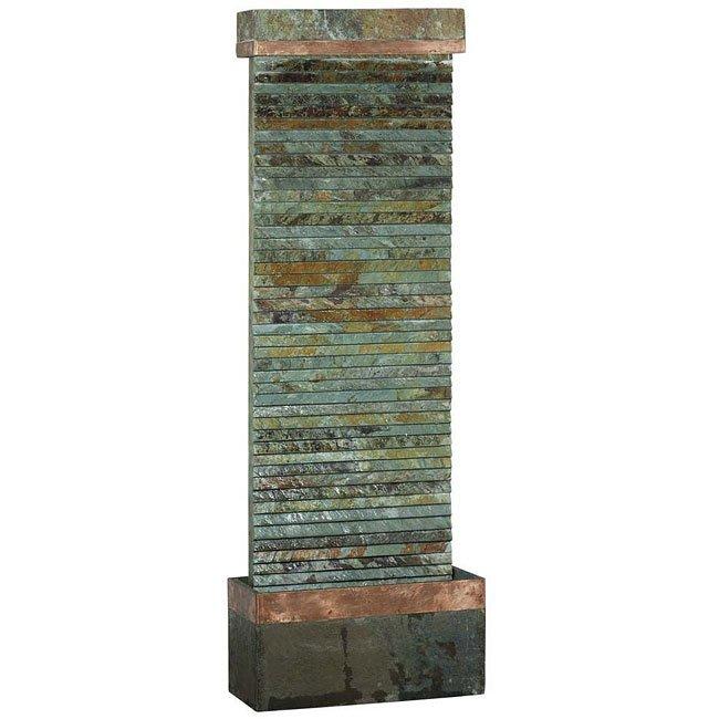 Castle Rock Floor Fountain (Slate Copper)