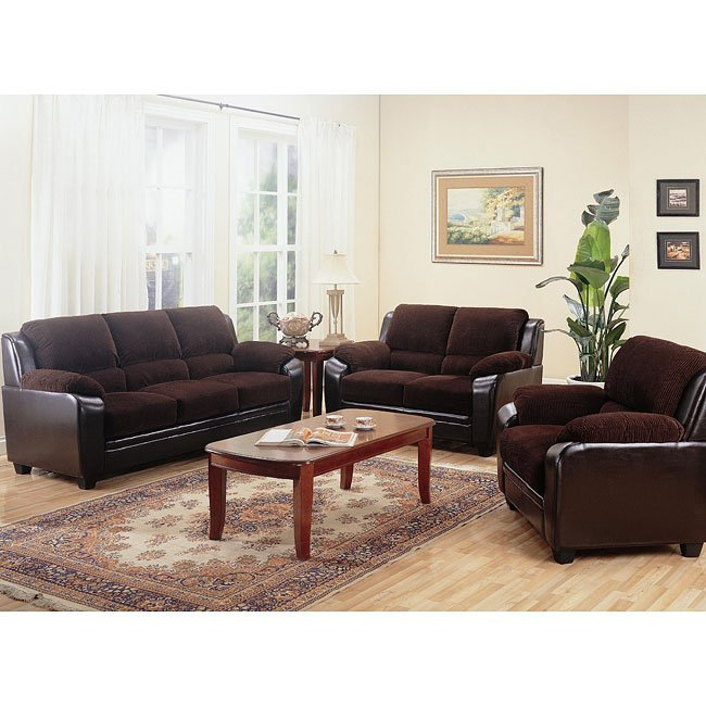 Monika Living Room Set Coaster Furniture