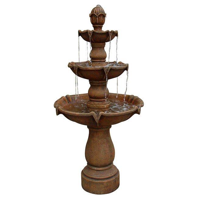Sherwood Outdoor Floor Fountain