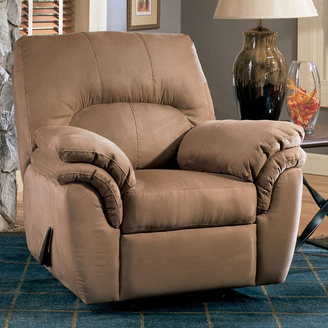 Durapella - Cocoa Rocker Recliner