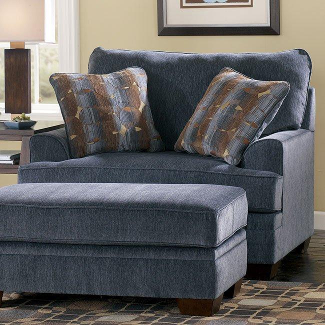 Ashton - Slate Chair and a Half