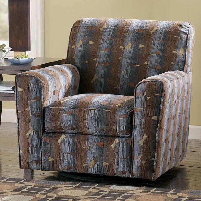 Ashton - Slate Swivel Chair