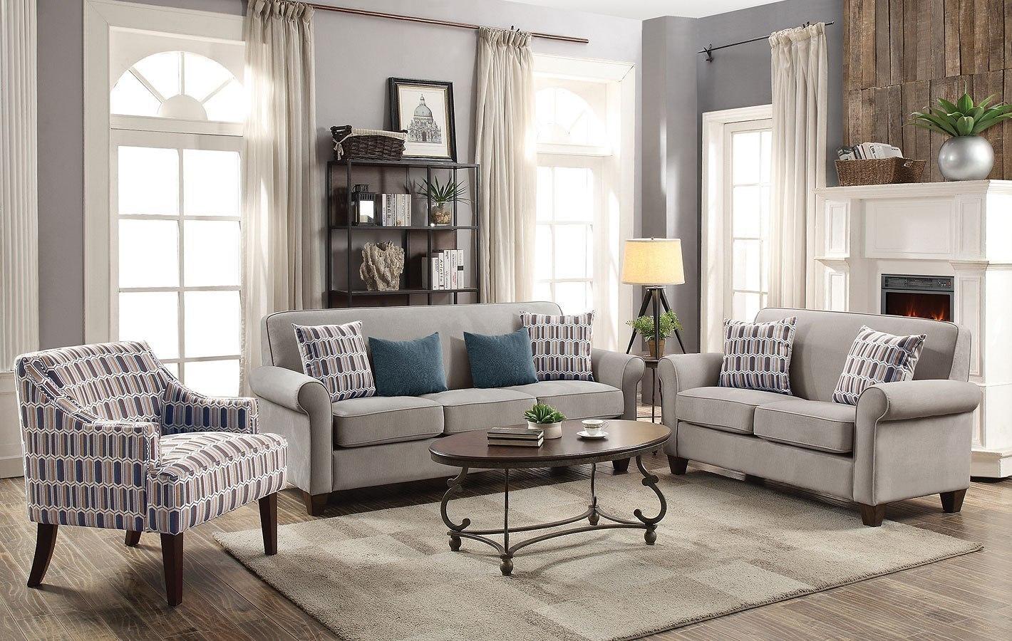 Gideon living room set cement coaster furniture furniture cart