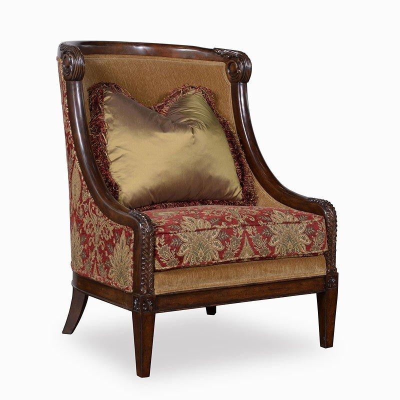 Giovanna Caramel Accent Chair