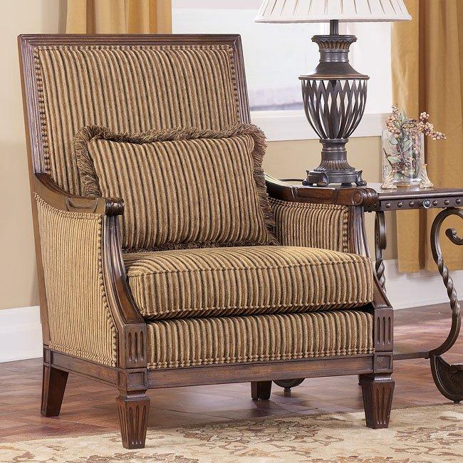 Empire - Espresso Showood Accent Chair