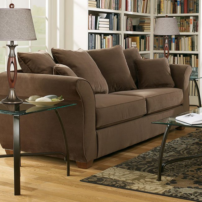 Chandler - Walnut Queen Sofa Sleeper
