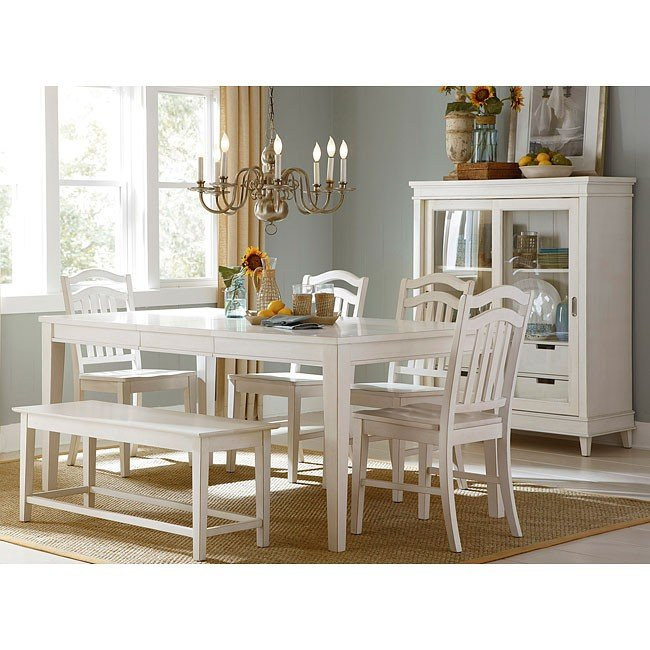 Summerhill Dining Room Set W/ Bench Liberty Furniture, 2