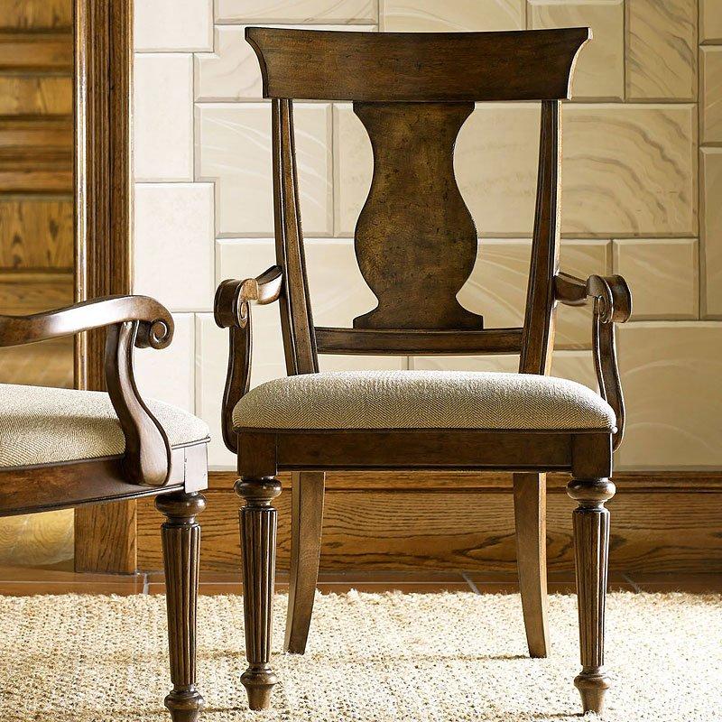 Barrington Farm Splat Back Arm Chair (Set Of 2) By Legacy Classic