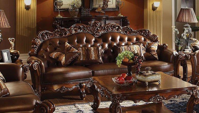 Vendome Large Sofa By Acme Furniture