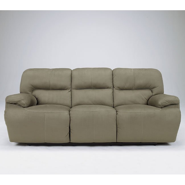 Keystone - Basil Reclining Sofa w/ Power