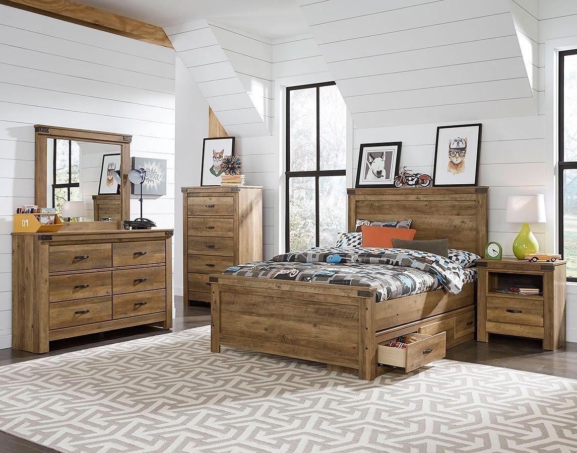 warren youth panel bedroom set standard furniture furniture cart. Black Bedroom Furniture Sets. Home Design Ideas