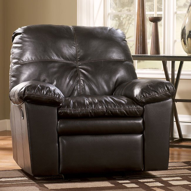 San Marco DuraBlend - Chocolate Rocker Recliner