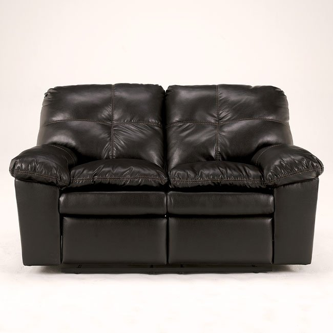 San Marco DuraBlend - Chocolate Reclining Loveseat
