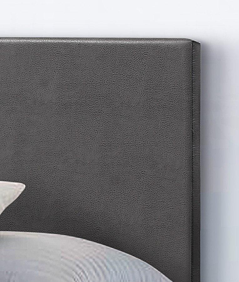 Erin Upholstered Bed (Dark Grey) Crown Mark Furniture
