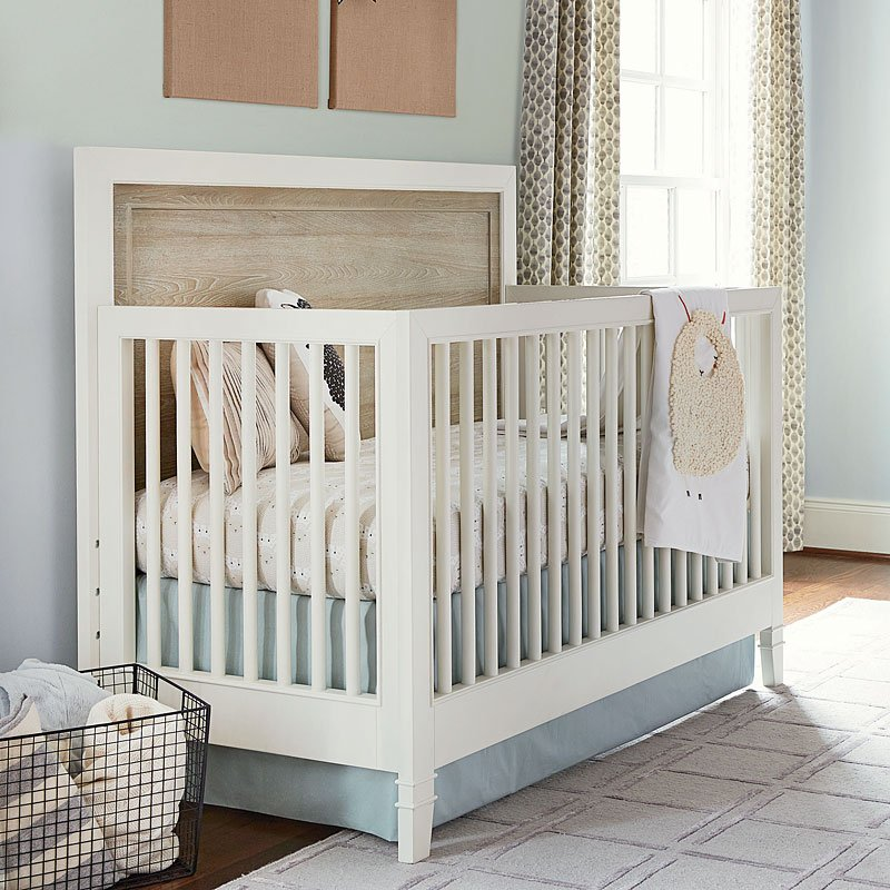 myRoom Convertible Crib (Parchment/ Gray)