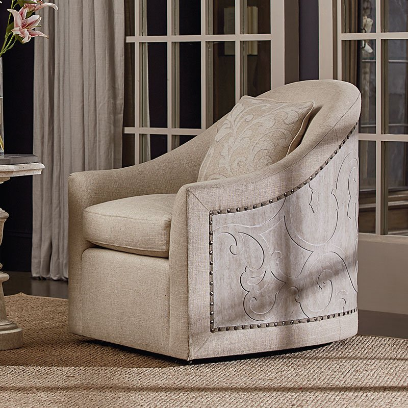 Beau Arch Salvage Coulter Swivel Chair