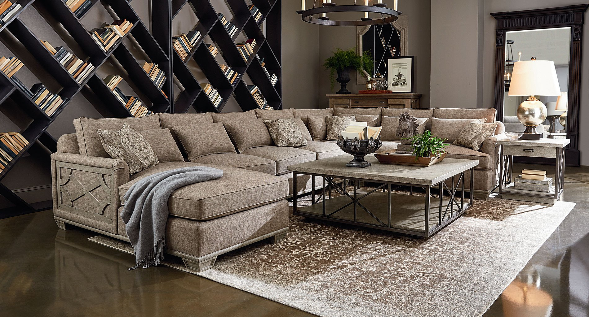Arch Salvage Jardin Modular Sectional Set