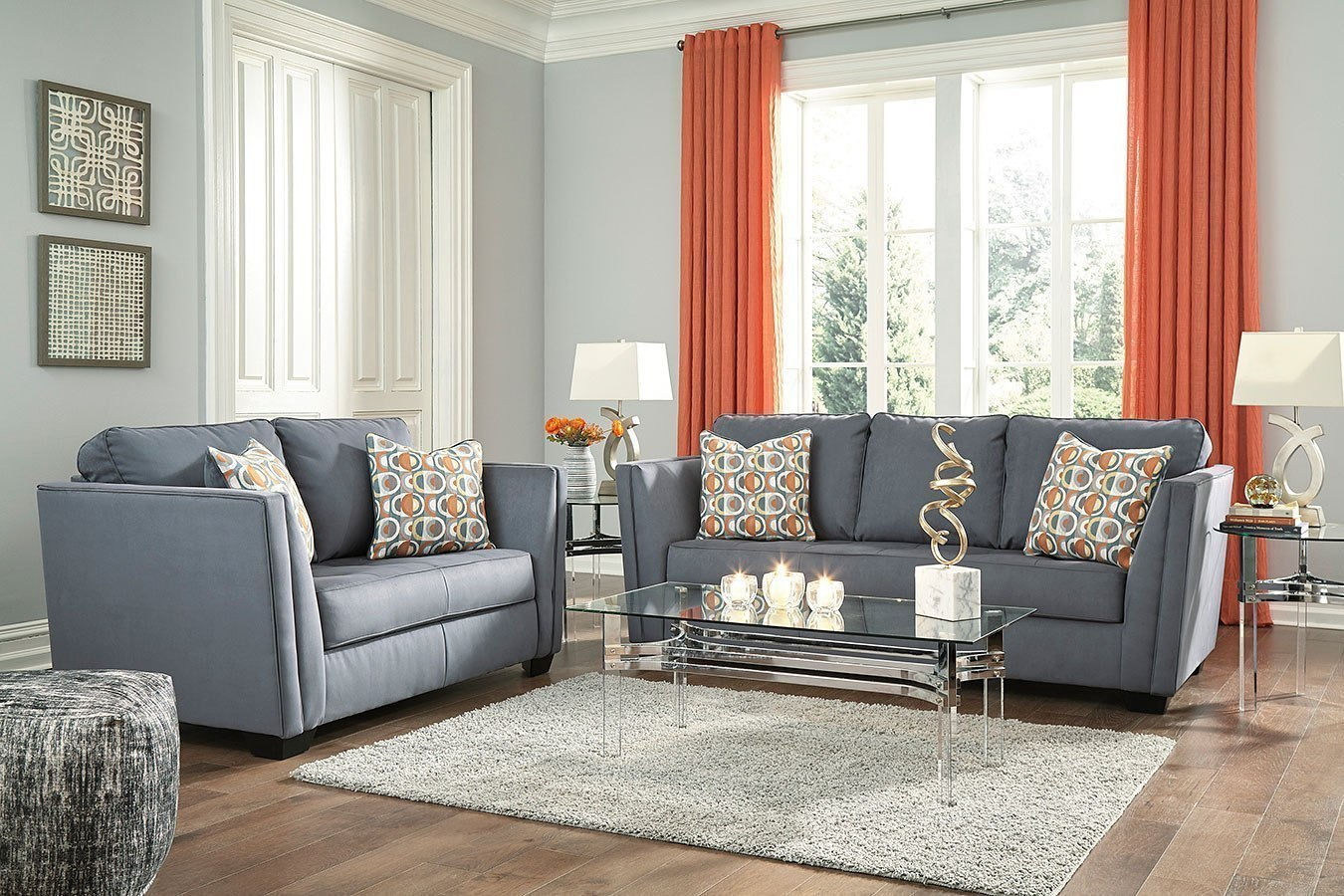 Filone steel living room set