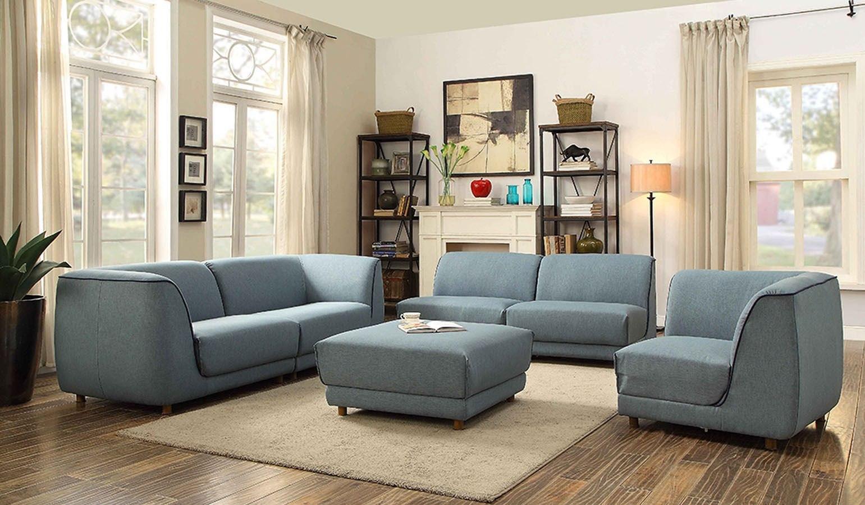 Adina Modular Living Room Set Acme Furniture Furniture Cart