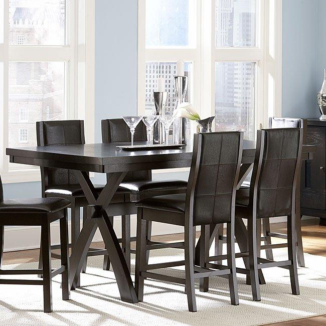 Sherman Counter Height Dining Room Set Homelegance