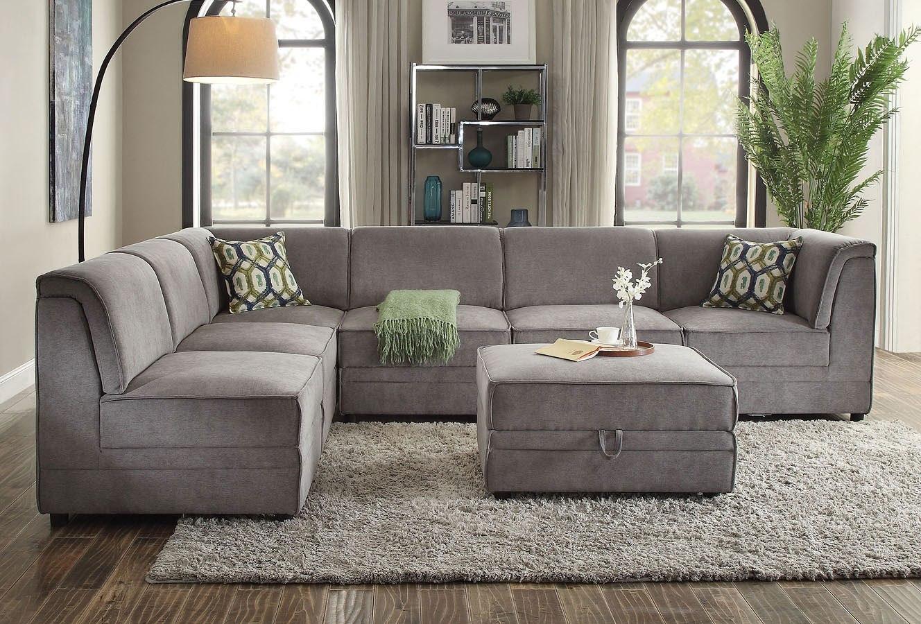 bois modular sectional set acme furniture furniture cart. Black Bedroom Furniture Sets. Home Design Ideas