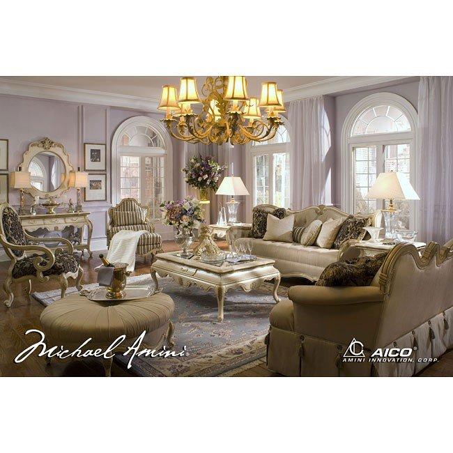 Lavelle Living Room Set (Blanc) Aico Furniture, 1 Reviews