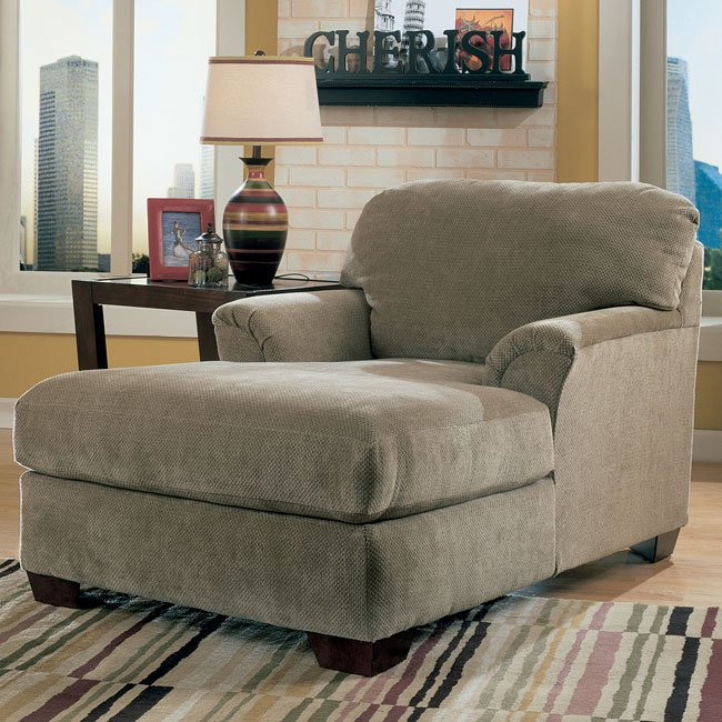 Cityscape - Taupe Chaise