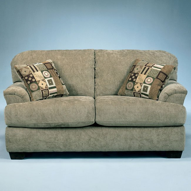Cityscape - Taupe Loveseat