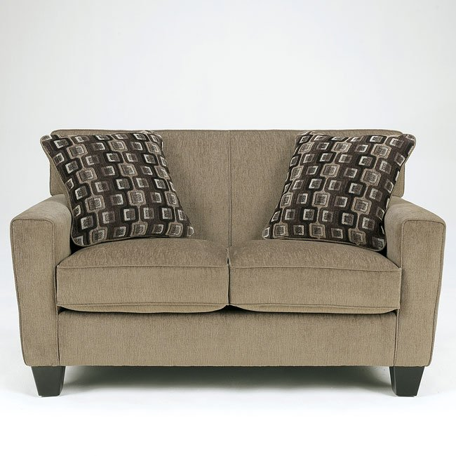 Trina - Pewter Loveseat
