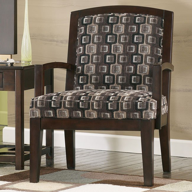 Trina - Pewter Showood Accent Chair