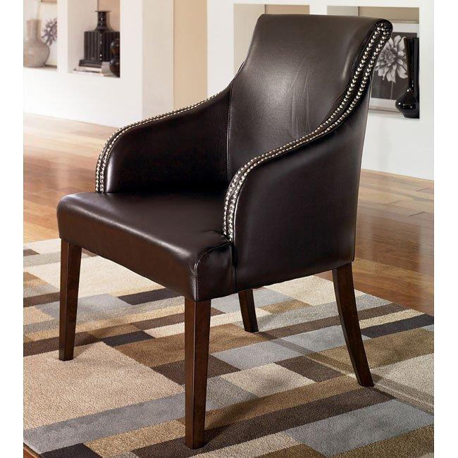 Entice - Mist Showood Accent Chair