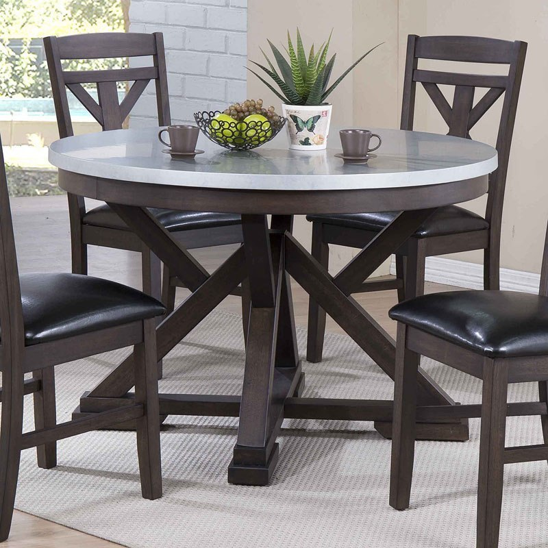 Zinc Top Dining Table Eci Furniture