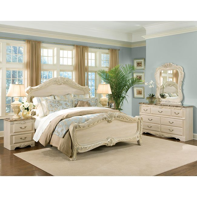 Rococo Panel Bedroom Set