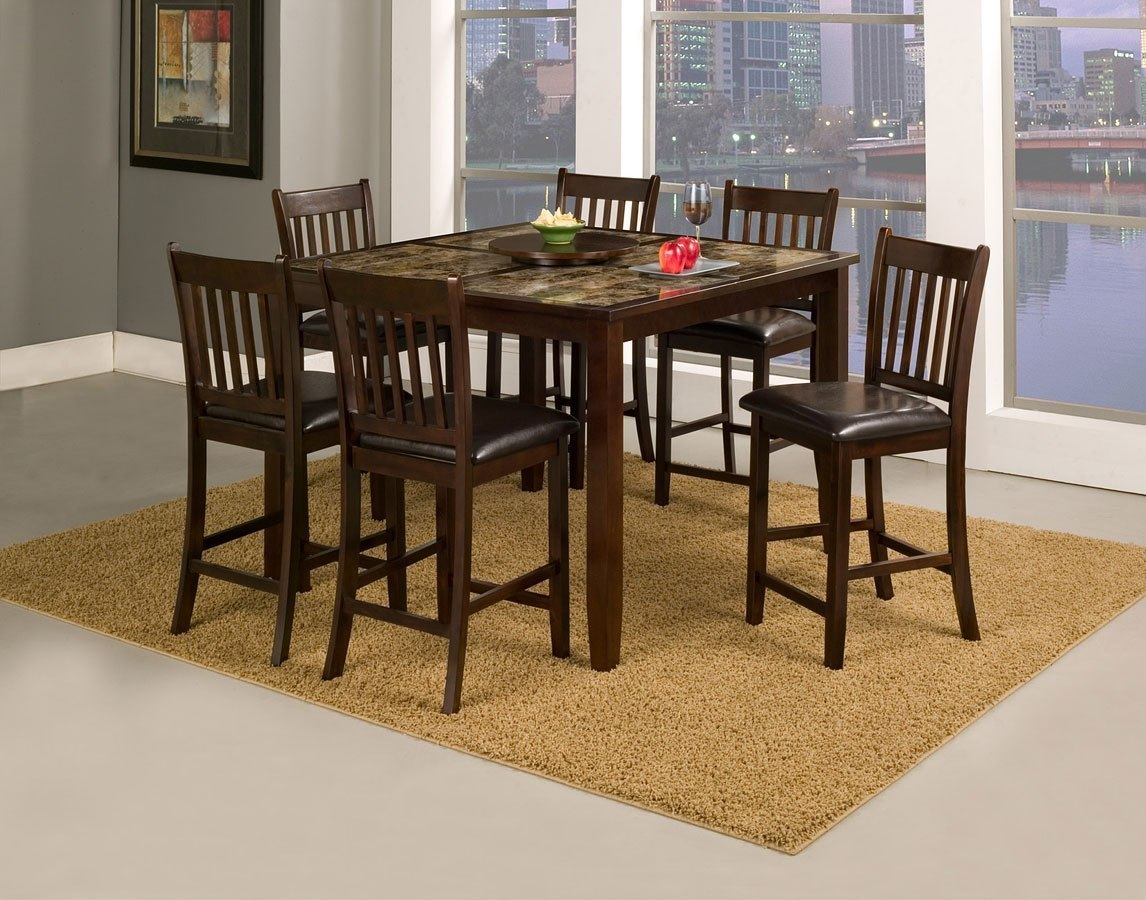 Capitola Counter Height Dining Room Set Alpine Furniture Furniture Cart
