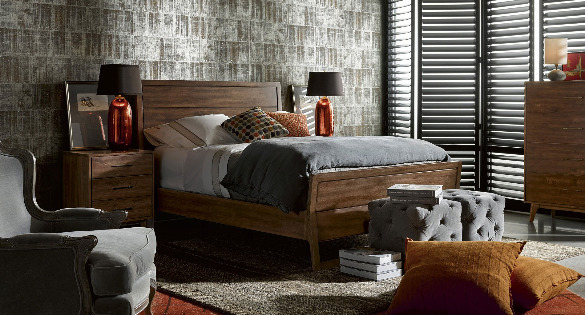 Curated Newbury Bedroom Set w/ Whitney Bed