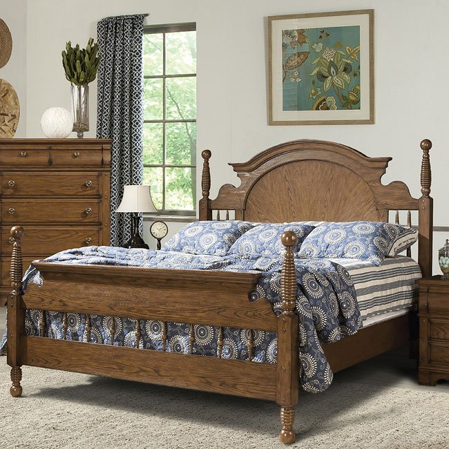 Hunters Ridge Poster Bed