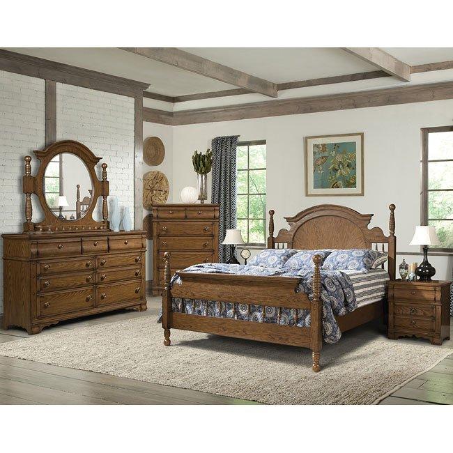 Hunters Ridge Poster Bedroom Set