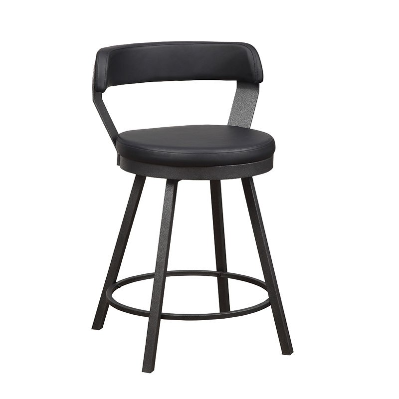 Dining Room Chair Height: Appert Counter Height Dining Room Set W/ Black Chairs