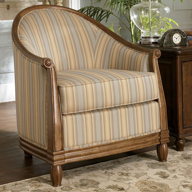 Prelude - Champagne Showood Accent Chair