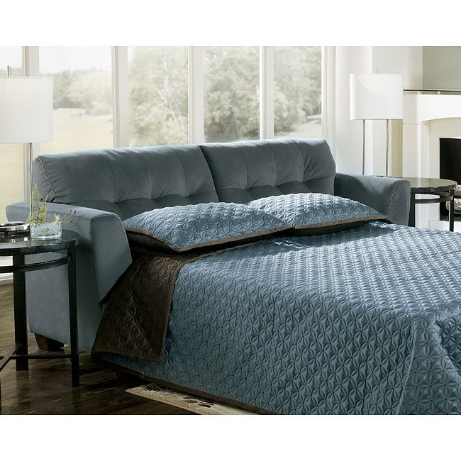 Sleeper Sofa Dallas: Steel Living Room Set Signature Design