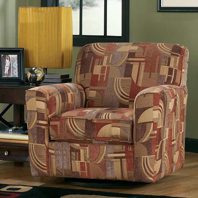 Macie - Brown Swivel Chair
