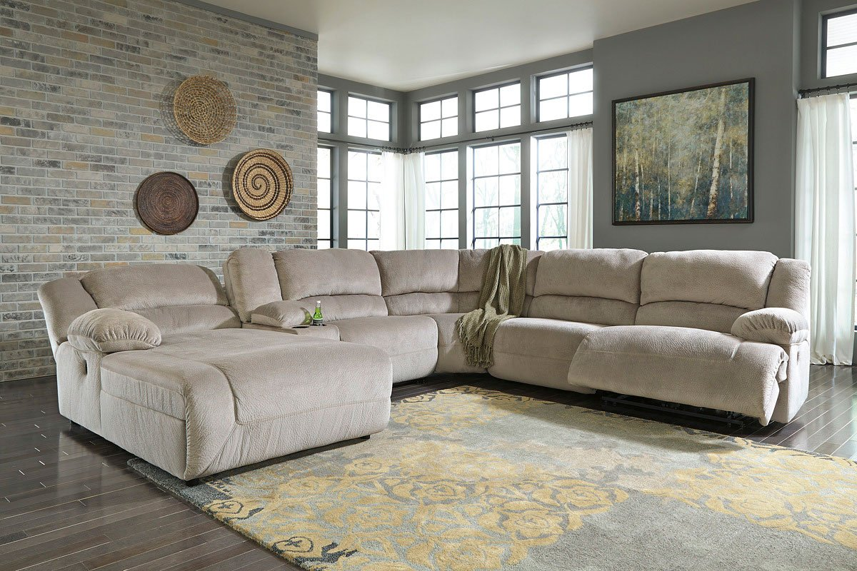 Toletta Granite Modular Reclining Sectional